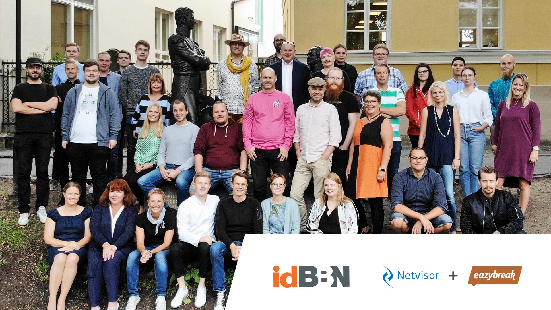 ID BBN on tyytyväinen Eazybreak-Netvisor integraatioonsa.