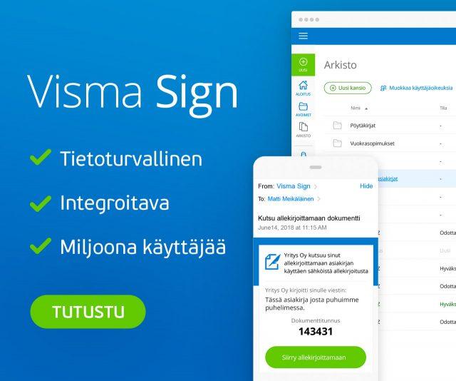 Visma Sign