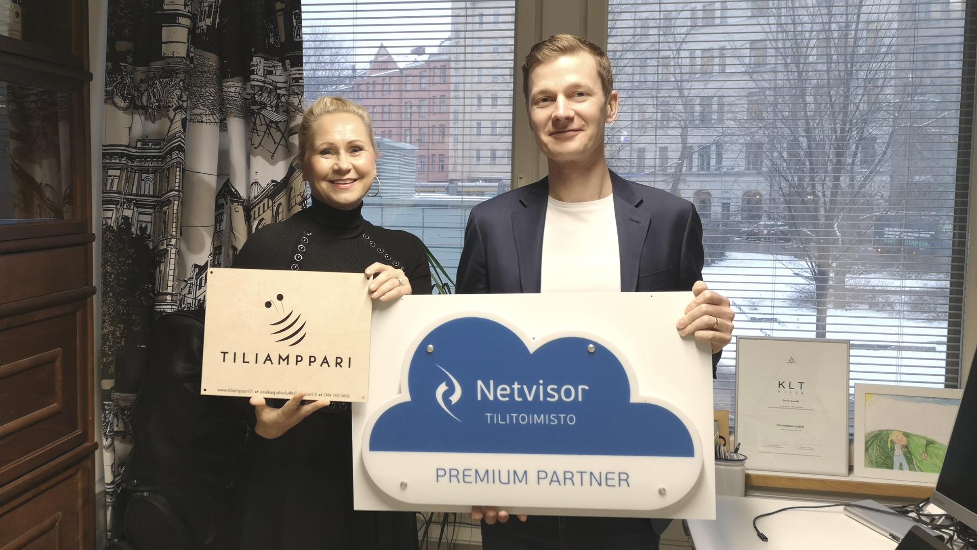 Netvisor-tilitoimisto Tiliampparin Jarmo Sassali
